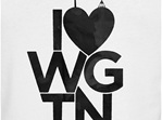 I love Wellington, black on white