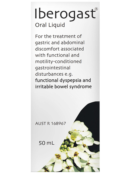 Iberogast IBS and Functional Indigestion Relief Herbal Liquid 50mL