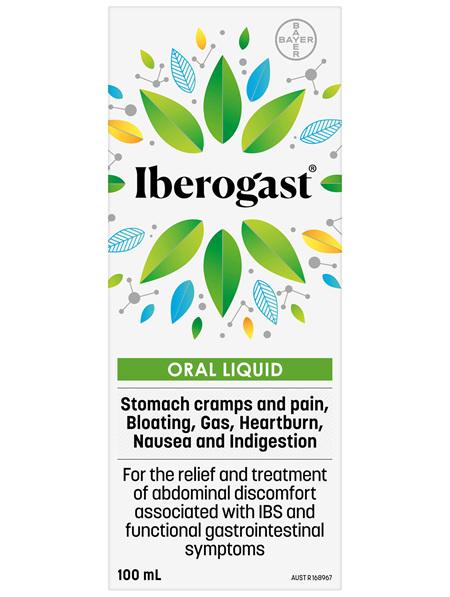 Iberogast IBS and Functional Indigestion Relief Herbal Liquid 100mL