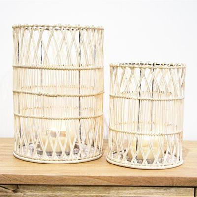 Iku Lantern - White 25x35cm