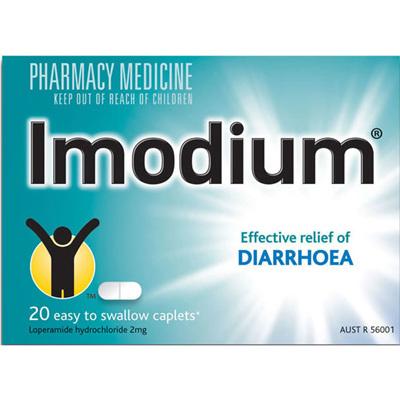 Imodium Caplets 20