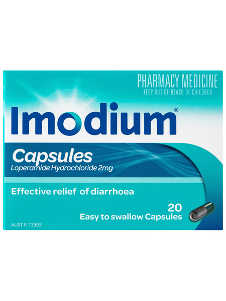 Imodium Capsules 20 Pack