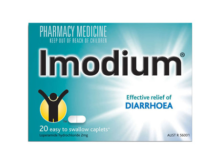 Imodium capsules 2mg 8