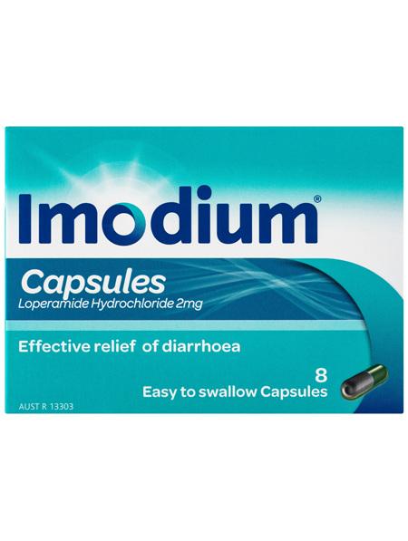 Imodium Capsules 8 Pack