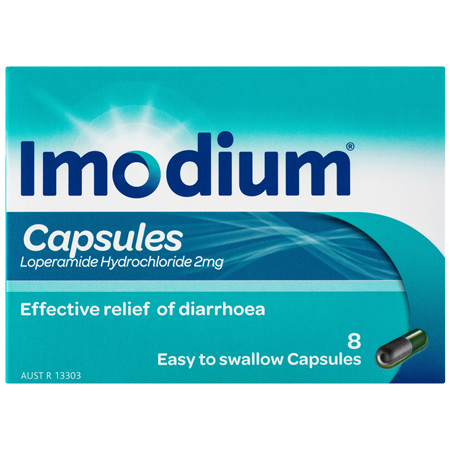 Imodium Capsules 8 Pack