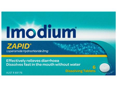 Imodium Zapid Dissolving Tablets 6 Pack