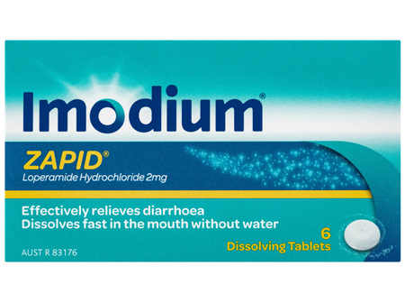 Imodium Zapid Dissolving Tablets 6 Pack