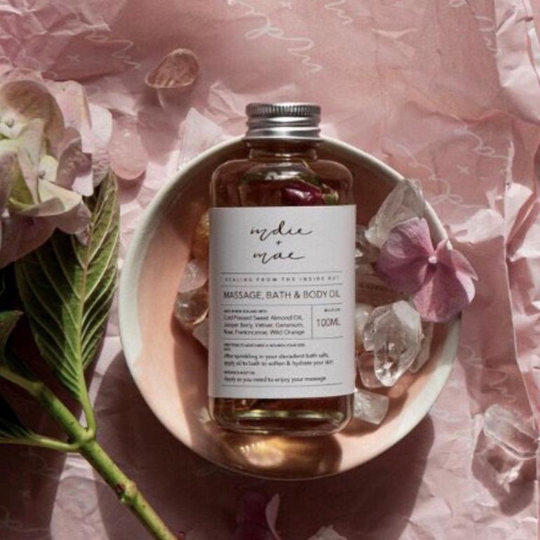 Indie & Mae Body, Bath & Massage Oil
