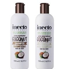 Inecto Coconut Shampoo and Conditioner 2 x 500ml