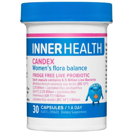 Inner Health Candex 30 Capsules