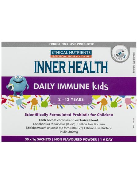 Inner Health Daily Immune Kids 30 x 1g Sachets