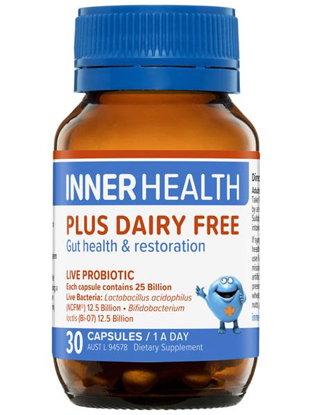Inner Health Plus Dairy Free 30 Capsules