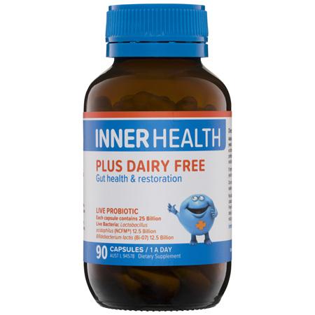 Inner Health Plus Dairy Free 90 Capsules
