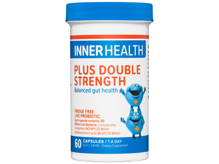 Inner Health Plus Double Strength 60 Capsules