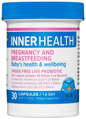 Inner Health Pregnancy & Breastfeeding 30 Capsules