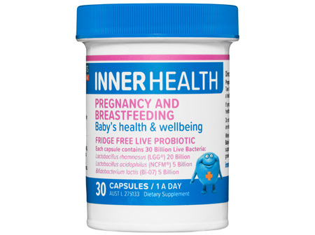 Inner Health Pregnancy & Breastfeeding 30 Capsules