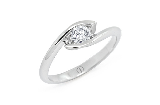 Inspired Croft Diamond Ring