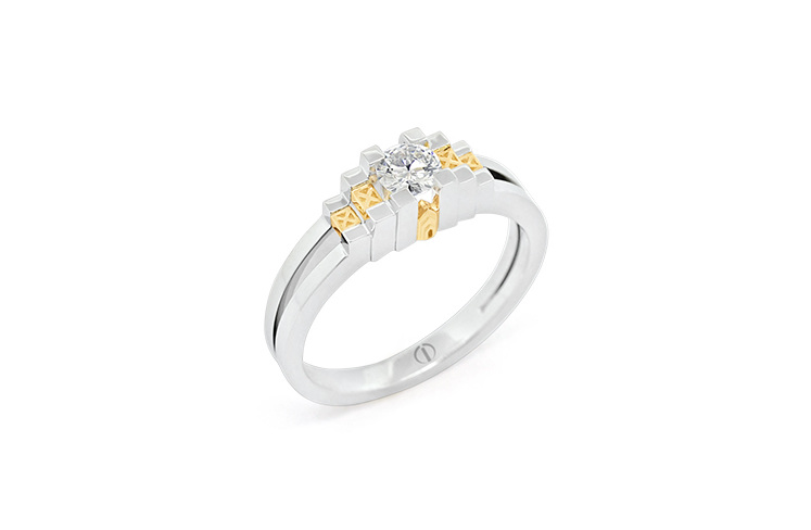 Inspired Empire Delicate Diamond Ring