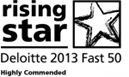 INSPIRED JEWELLERY RECOGNISED IN THE DELOITTE FAST 50 RISING STARS