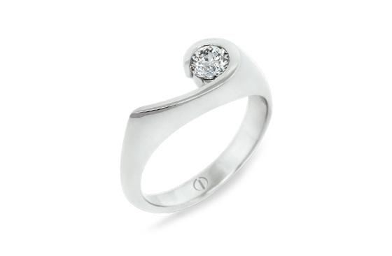 Inspired Patai Delicate Diamond Ring
