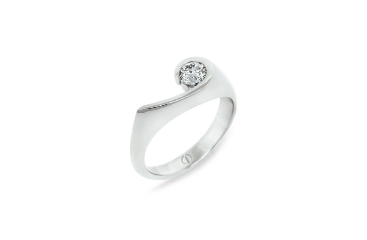 Inspired Patai Delicate Diamond Ring