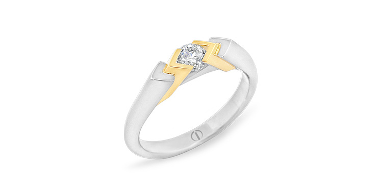 Inspired Raize Delicate Diamond Ring
