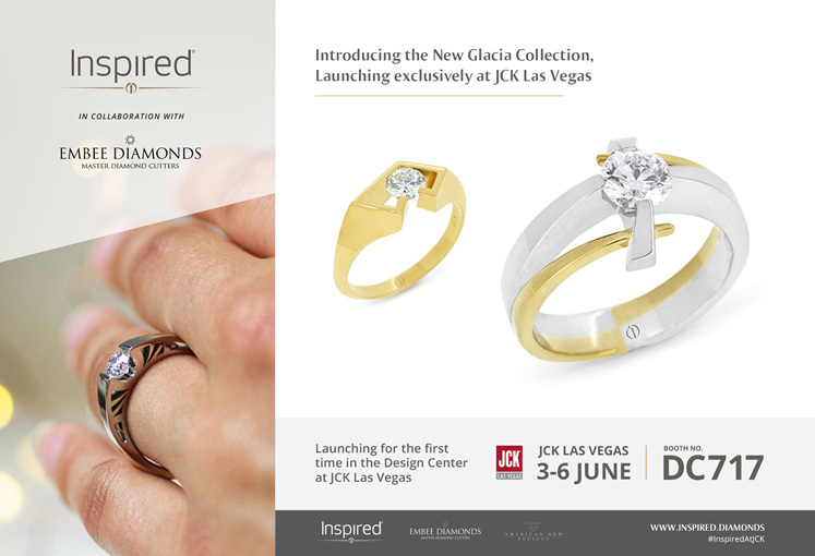 INSPIRED JEWELLERY TO LAUNCH THE GLACIA COLLECTION AT JCK LAS VEGAS