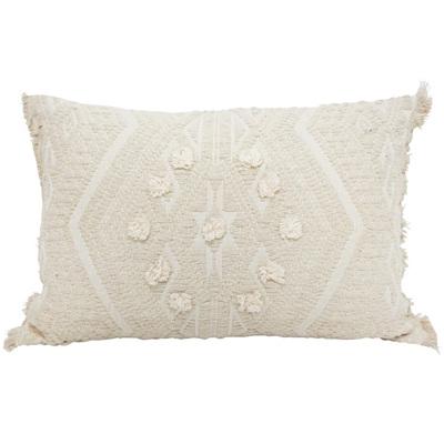 Intan Cushion W Dori Work And Fringes 40x60cm