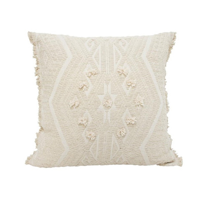 Intan Cushion W Dori Work And Fringes 50x50cm