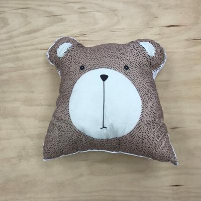 Into the Woods Bear Cushion
