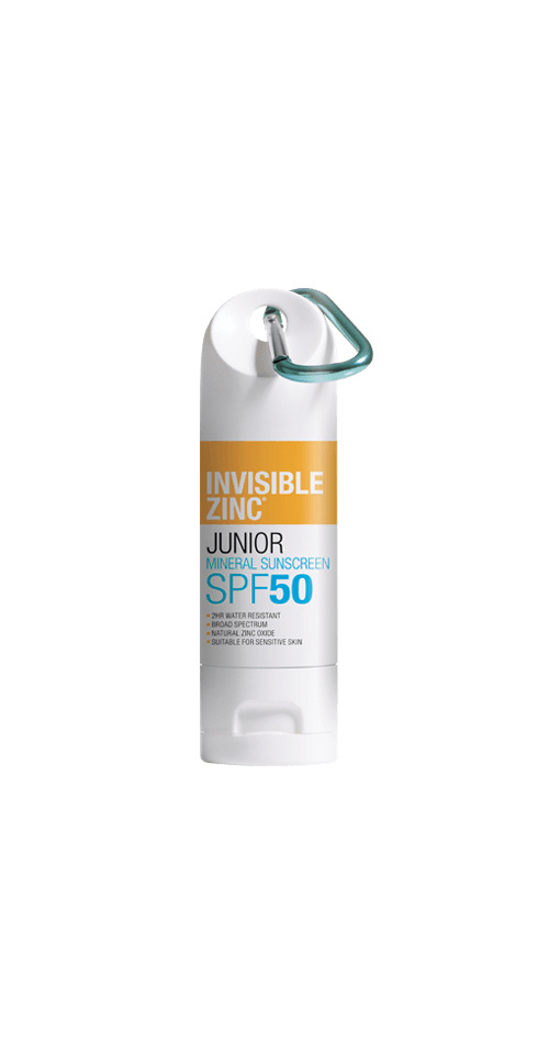 INVISIBLE ZINC Junior 2hr Water Resistant SPF50 60g