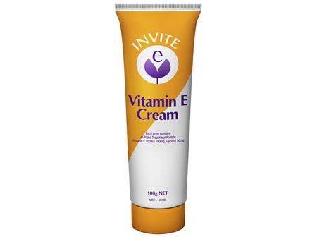 Invite E Concentrated Vitamin E Cream 100g