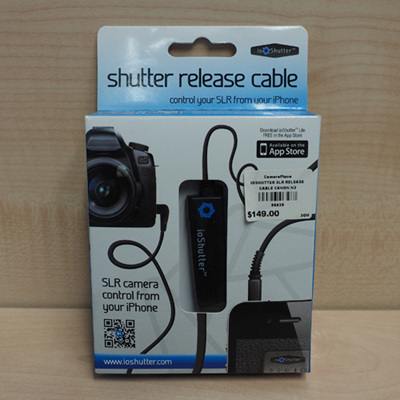 IOSHUTTER SLR RELEASE CABLE CANON N3