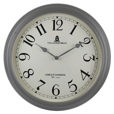 Iron Wall Clock - 176