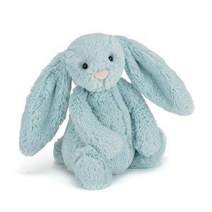 Jellycat Bashful Bunny Aqua Medium