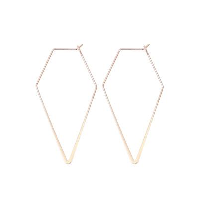 Jess Earrings - Rose Gold