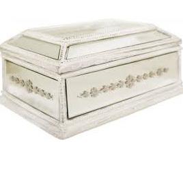 Jewellery Box French Mirror