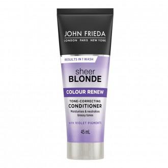 JF Sheer Blonde Colour Renew Toner Conditioner 45ml