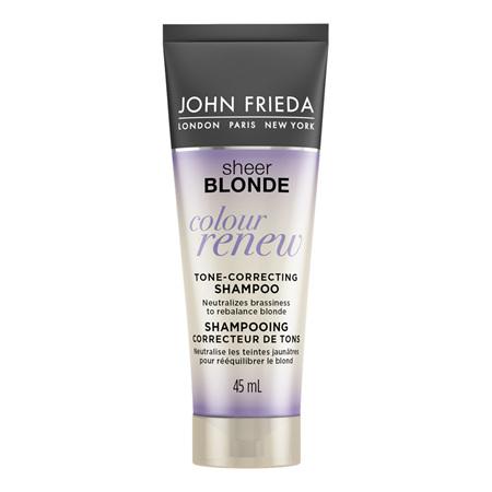 JF Sheer Blonde Colour Renew Toner Shampoo 45ml