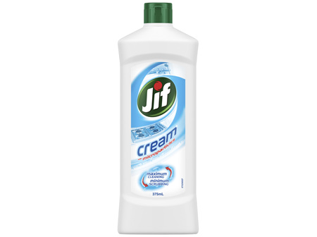 Jif Cleaning Cream Cleaner Regular 375ml