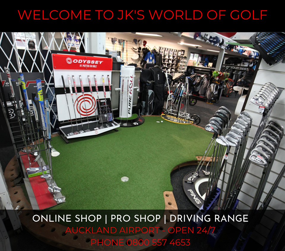 JKs world of golf Auckland Airport
