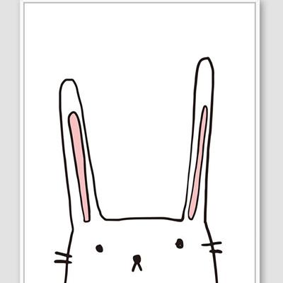 Jnr. - Candy Rabbit - 30x40