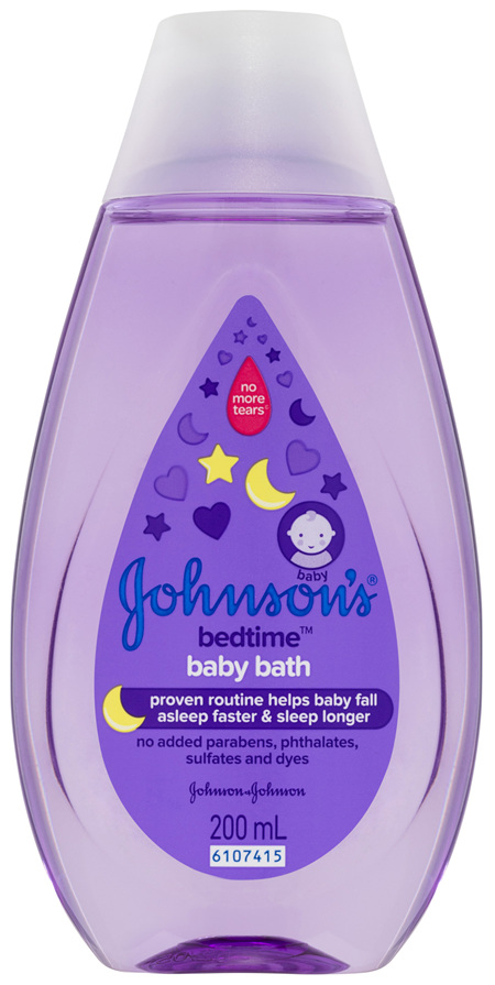 Johnson's Baby Bedtime Bath 200mL