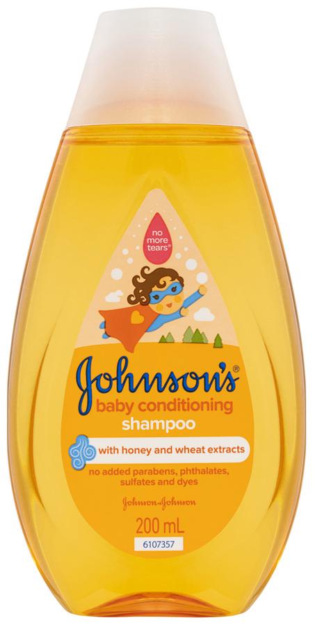 Johnson's Baby Conditioning Shampoo 200mL