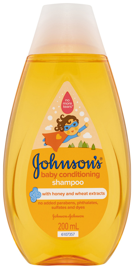 Johnson's Baby Conditioning Shampoo 200mL