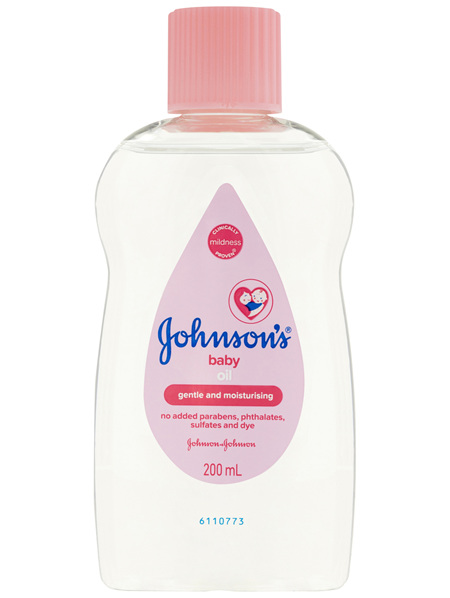 Johnson's Baby Oil 200mL