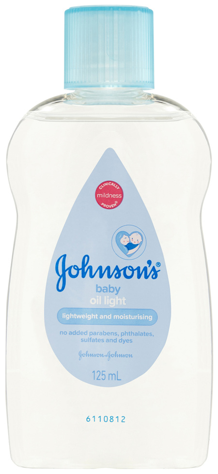 Johnson's Baby Oil Light 125mL