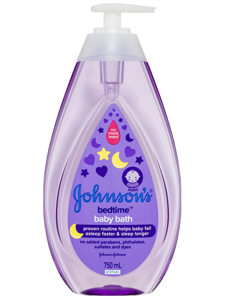 Johnson's Bedtime Baby Bath 750mL