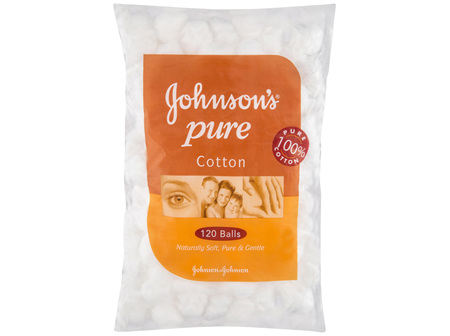 Johnson's Pure Cotton Balls 120