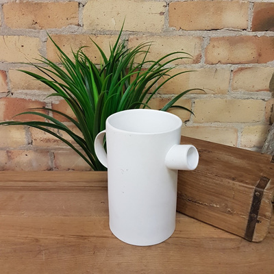 Jumbo Spout Jug White Ceramic - 20cm